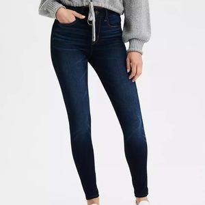 New AE Dream High-Waisted Jegging in Simply Dark